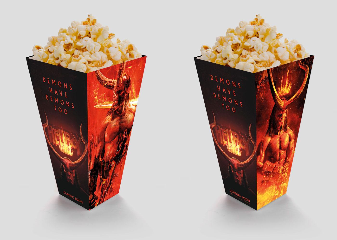 Odeon Popcorn Boxes