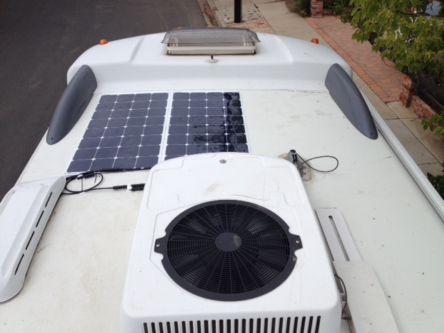 Solar Flex on a RV.