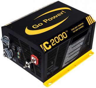 Go Power IC2000 Inverter / Battery Charger