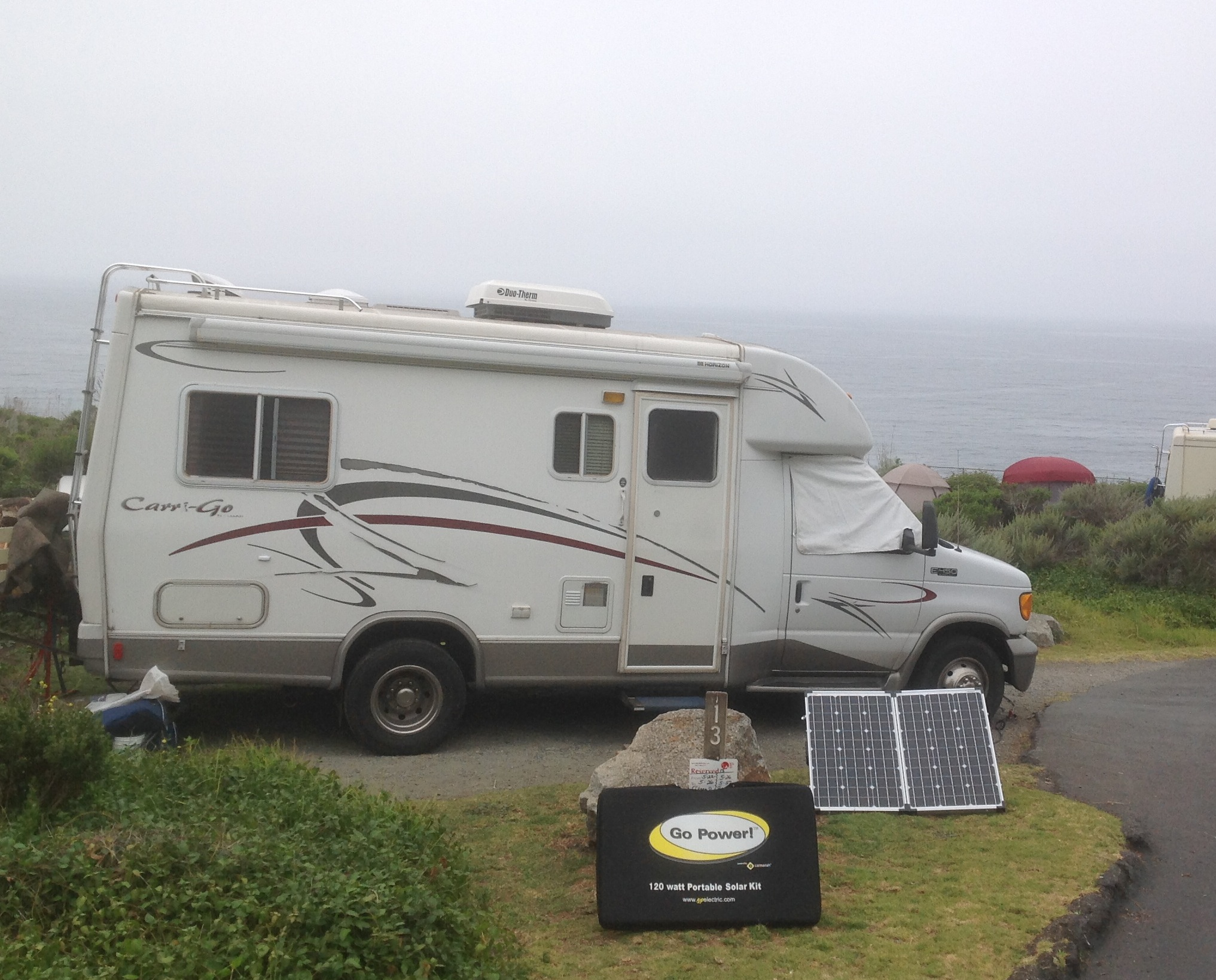Every RV should have a PORTABLE solar panel.