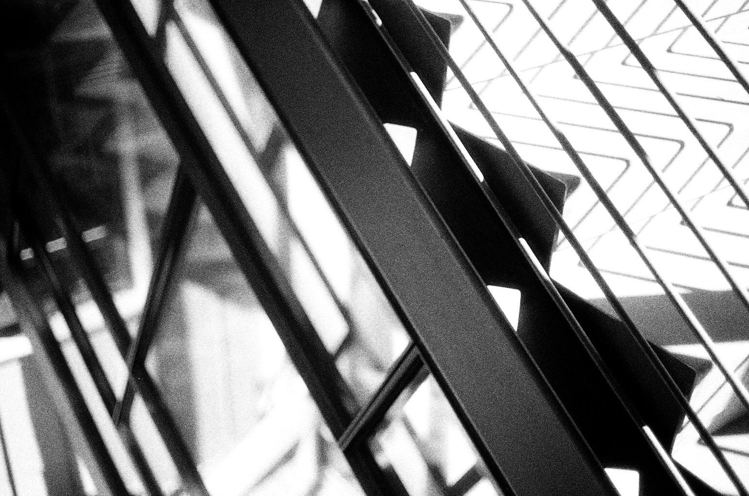 upper stair detail : stair as roof as stair