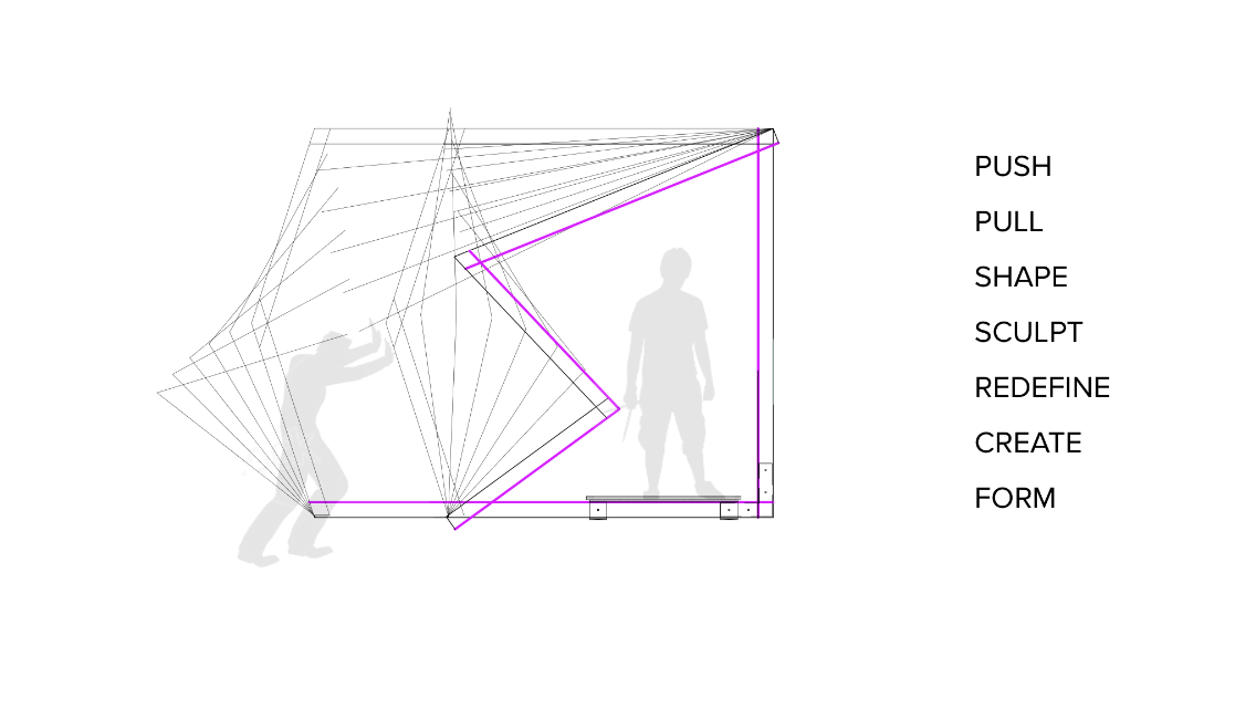 transformable pavilion diagram