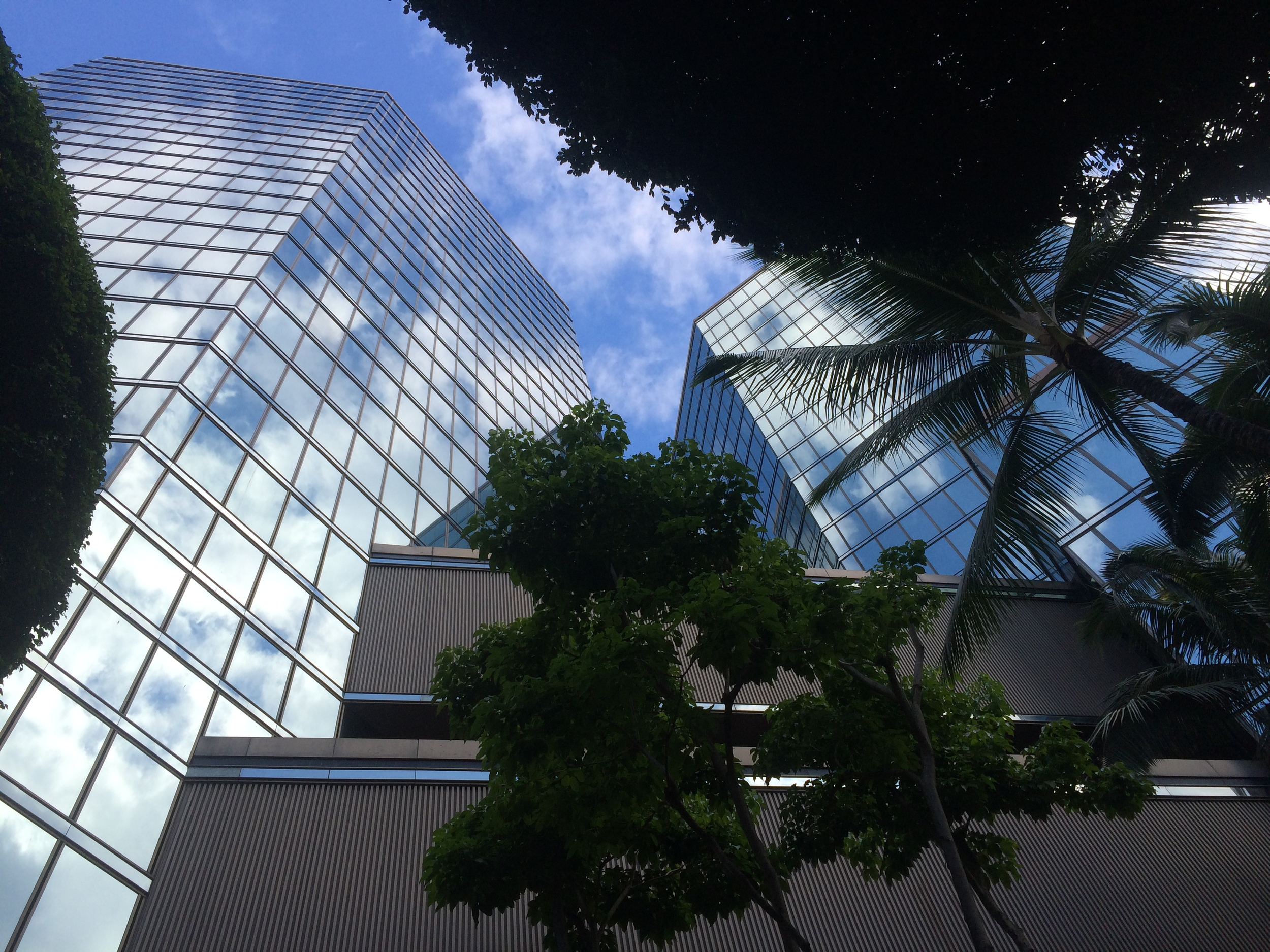 I work up there! On the 15th floor in downtown Honolulu.