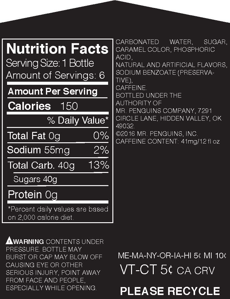 Carrier Nutrition Label