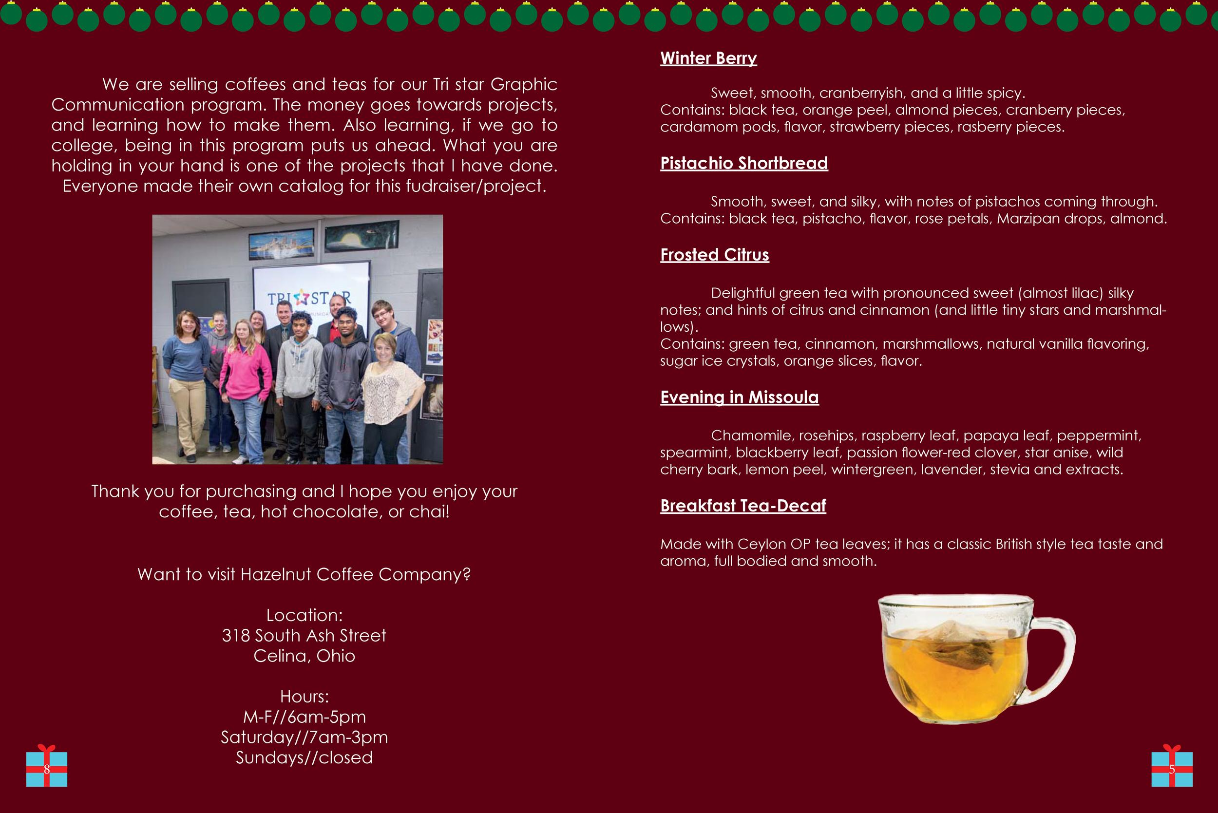 Hazelnut Coffee Magazine 4