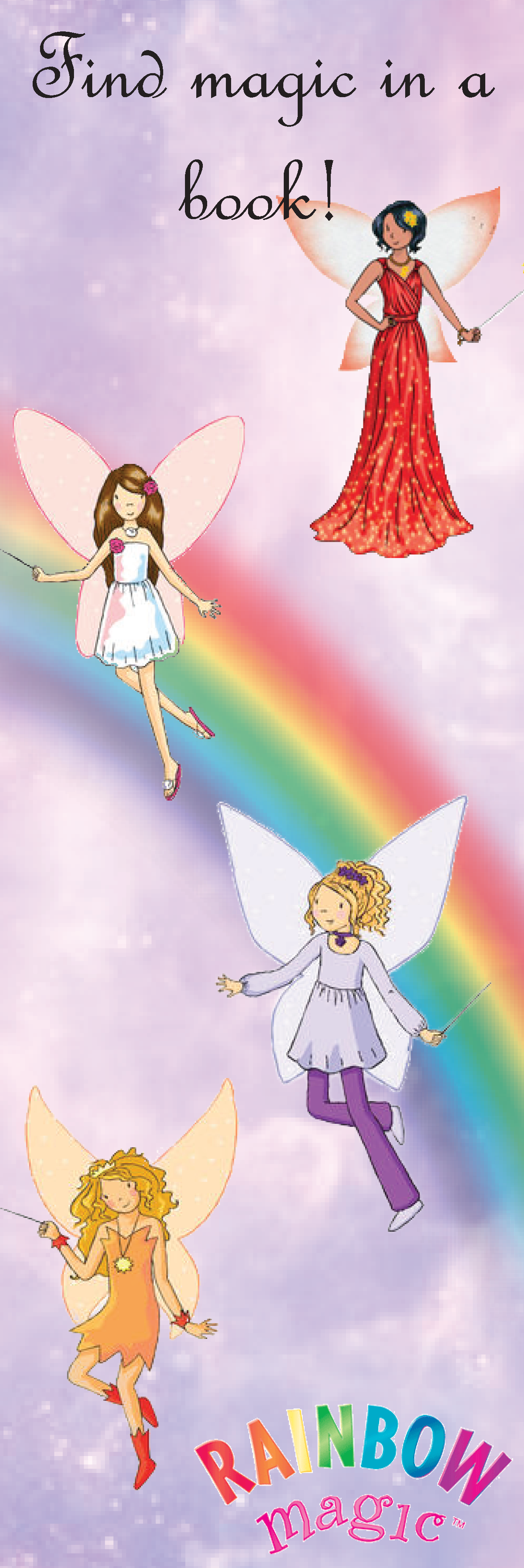 Rainbow Fairies Bookmark