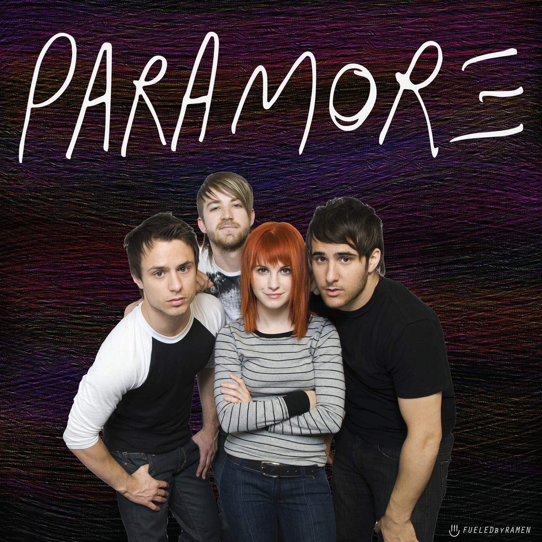 Paramore Vinyl Cover