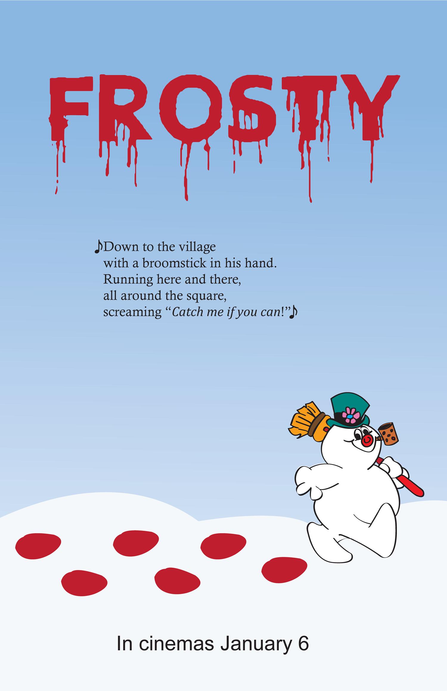 Evil Frosty Movie Poster