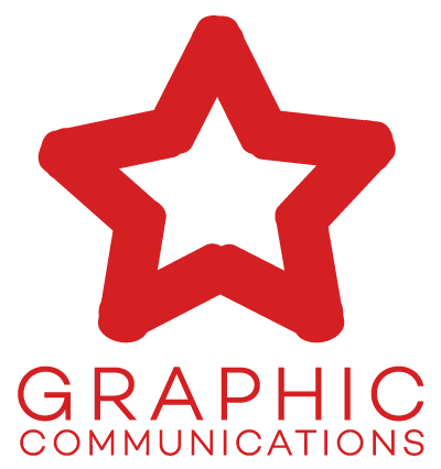 Graphic Communications Star Logo
