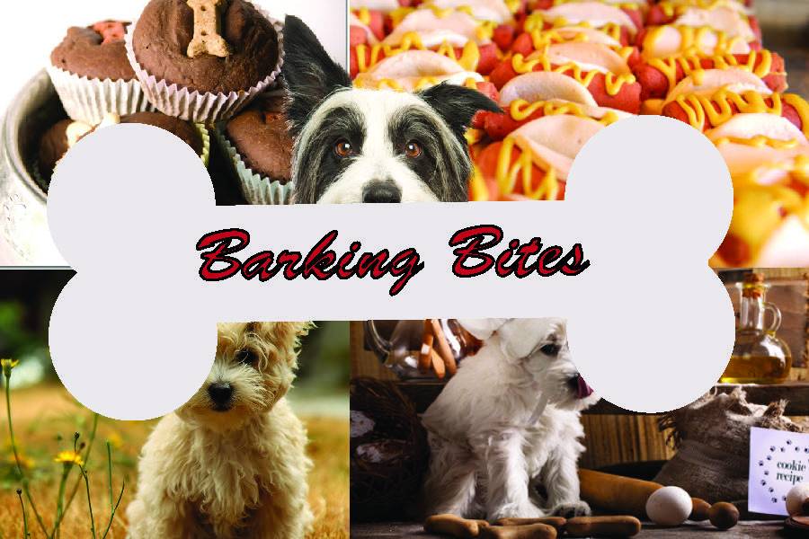 dog bakery postcard front