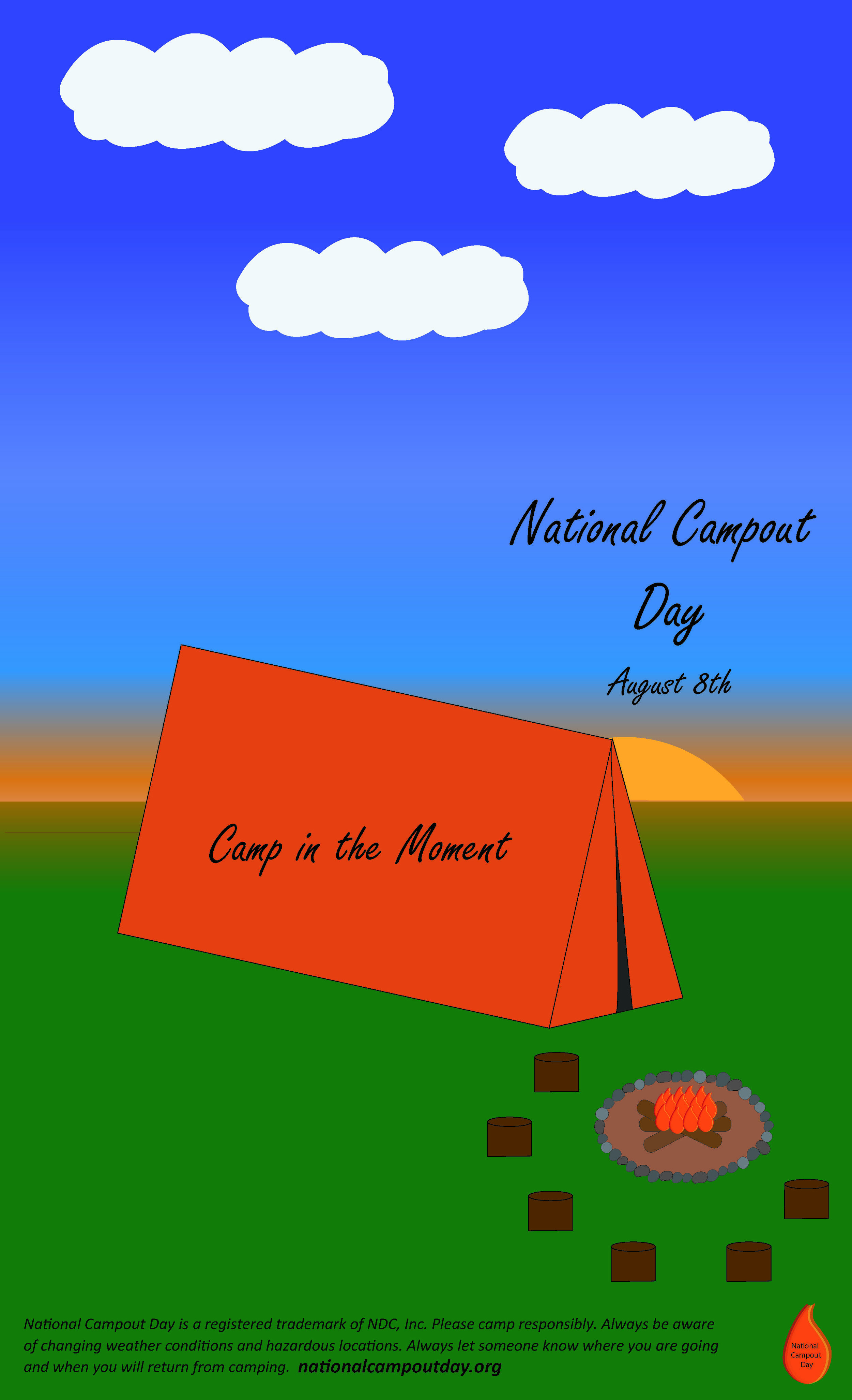 campout 1day poster