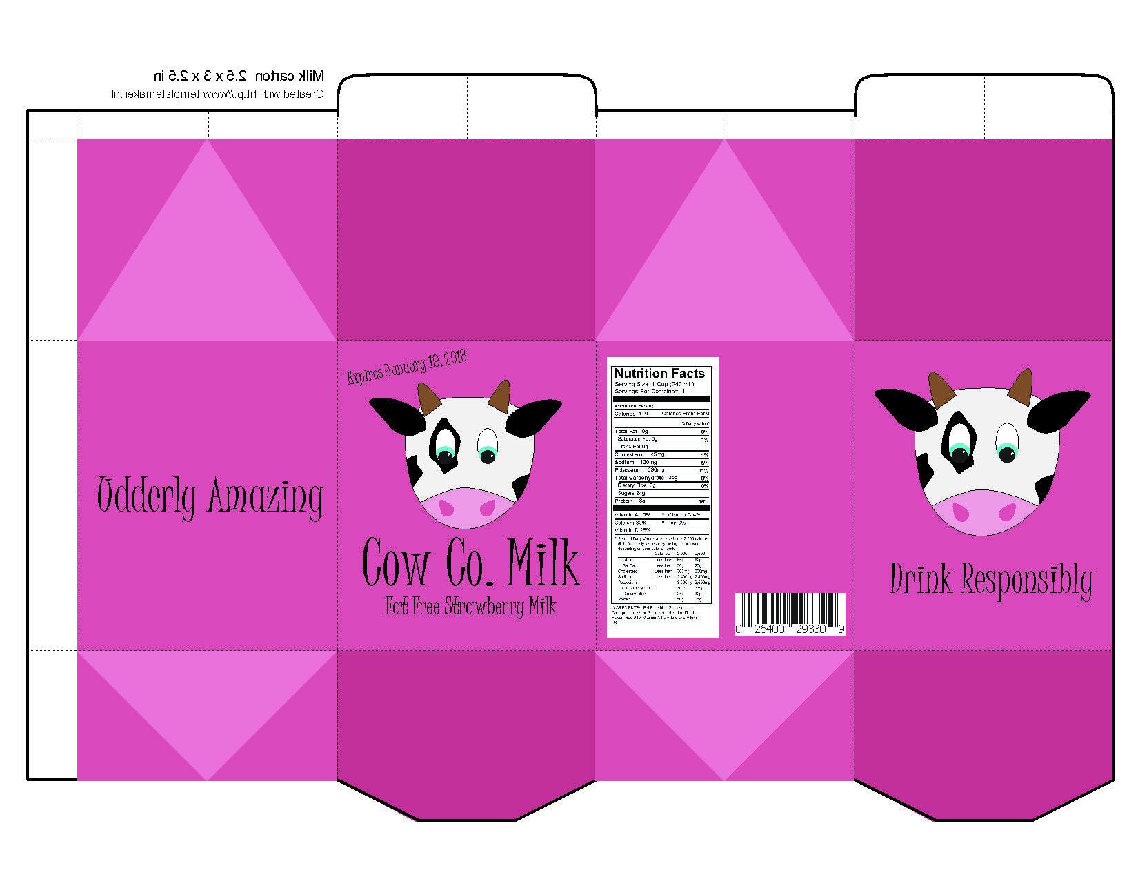 milk carton 1day
