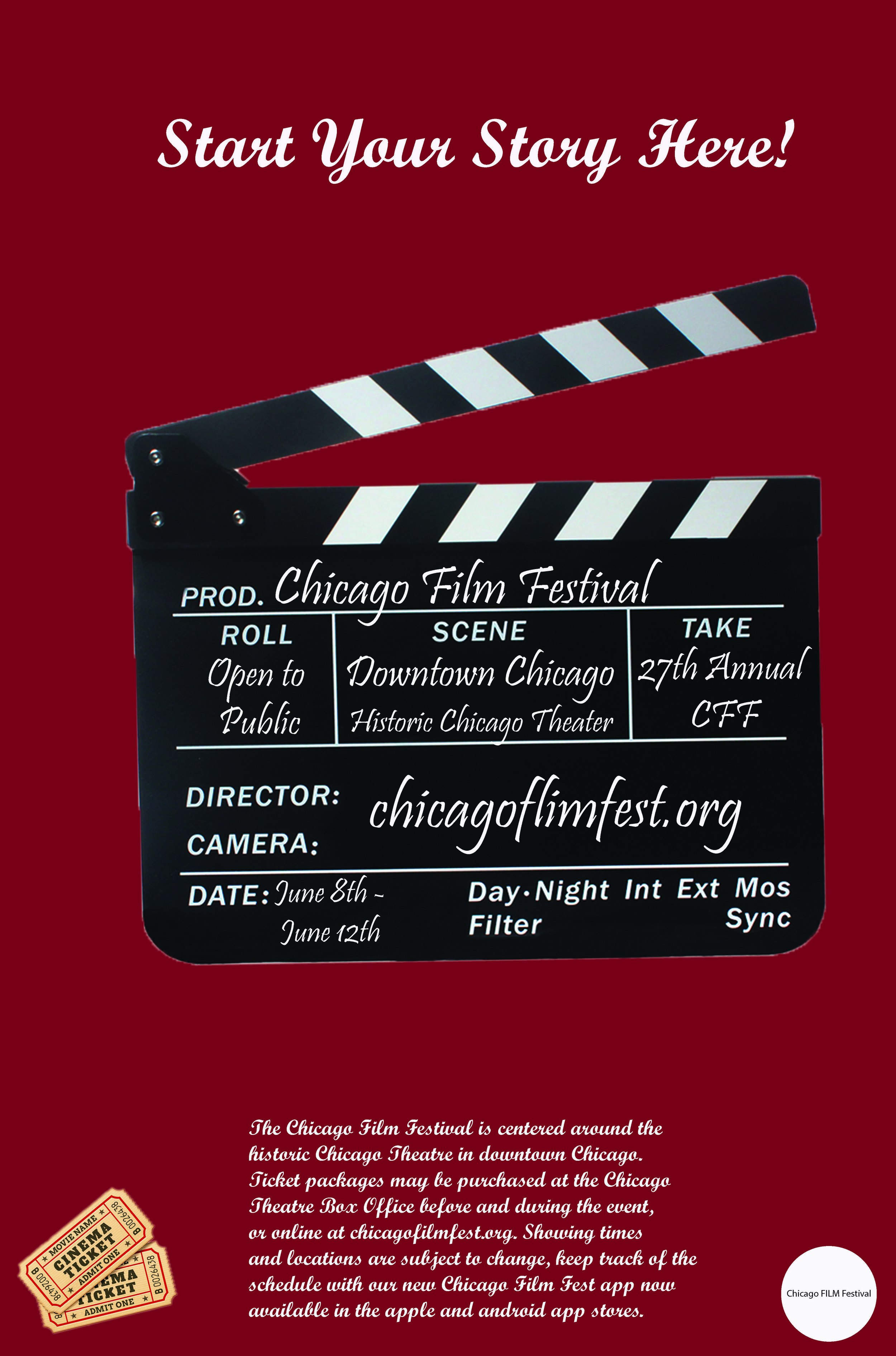 movie fest 1day poster