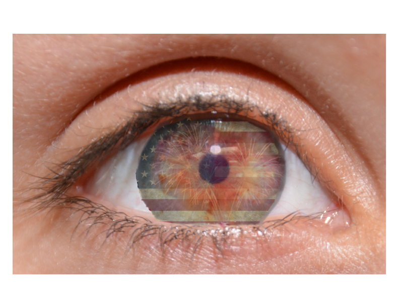 eye flag photo