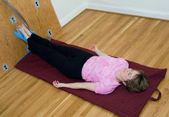 Tractioning for lower back to help with spinal stenosis, vertebral fractures and other lower back issues.