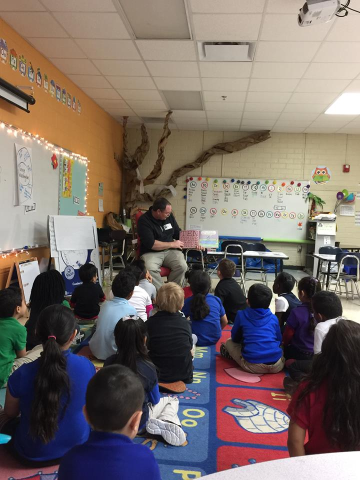 Glenview Elementary Connection - Trinity partners with our local elementary school to help encourage teachers, students, and staff members of the community.