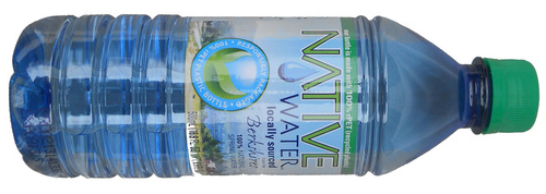 Inside : Locally sourced spring water, always local to where you buy
