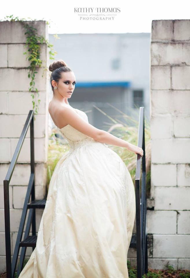 Hair and Makeup: Lauren Walsh  Photography: Kathy Thomas  Location: True Love Makeup Studio