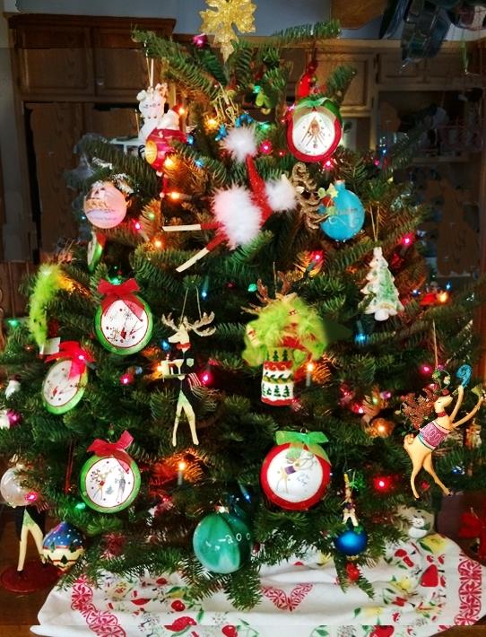 Jingle Ball ornaments