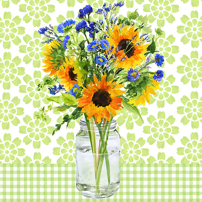 Sunflower Bouquet, Pattern.jpg