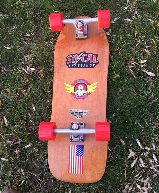 We're stoked that Greg Wolcott chose Kryptonics for his restoration project. #kryptonics #variflex #socalskateshop #kryptonicswheels #paristrucks #bonesbearings #vintageskateboard #skateboardcollection #skateboard #skate