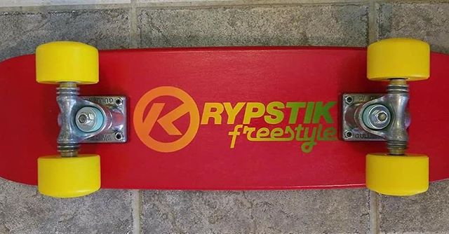 Kryptonics fan Scott Horvath shared this photo... according to Scott, yellow Kryptos are sexy!!! We would have to agree. #Kryptos #kryptonics #freestyleskateboarding #skateboard #kryptonicswheels #gullwingtrucks #scotthorvath
