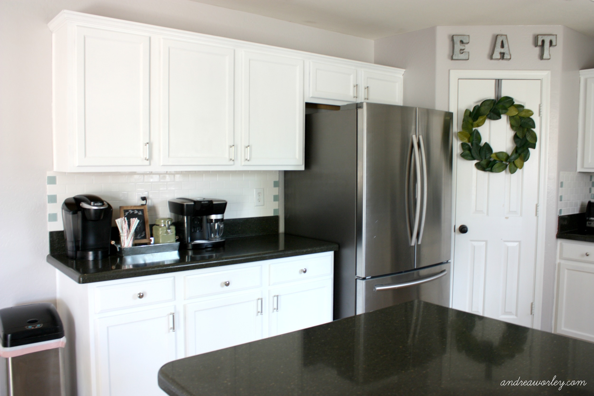 How We Painted Our Kitchen Cabinets Andrea Worley