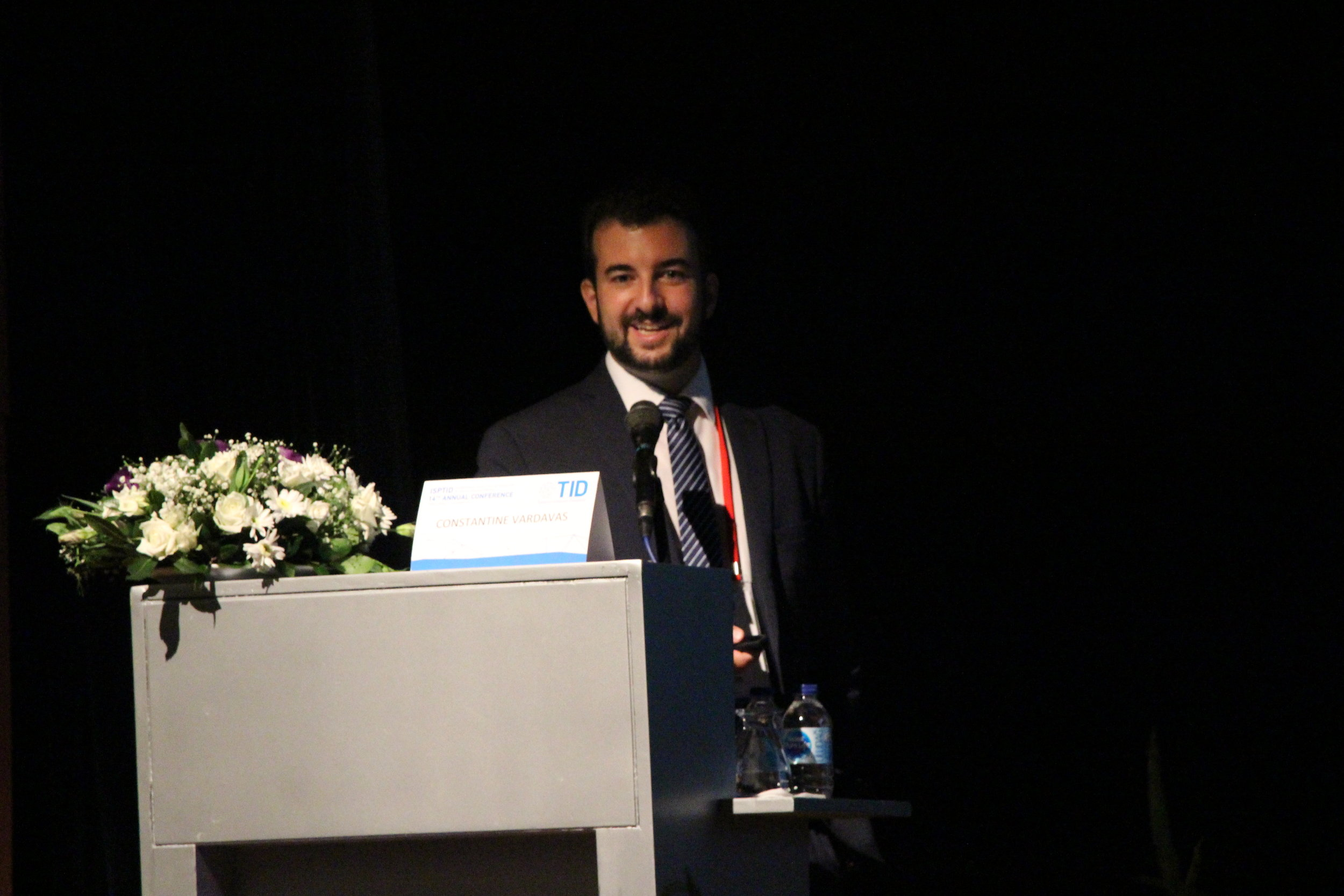 Ege Üniversitesi'nde ISPTID Kongresi Başladı-Prof. Dr. Constantine Vardavas.JPG