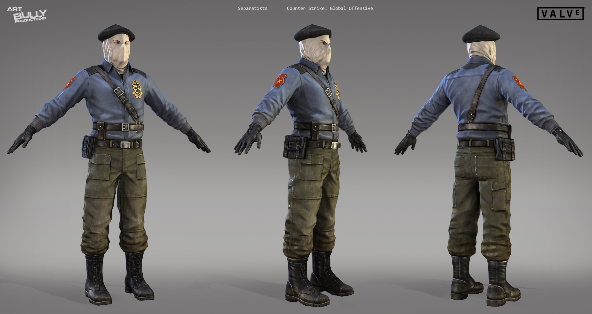 Counter Strike Characters Art Bully Productions Llc Game