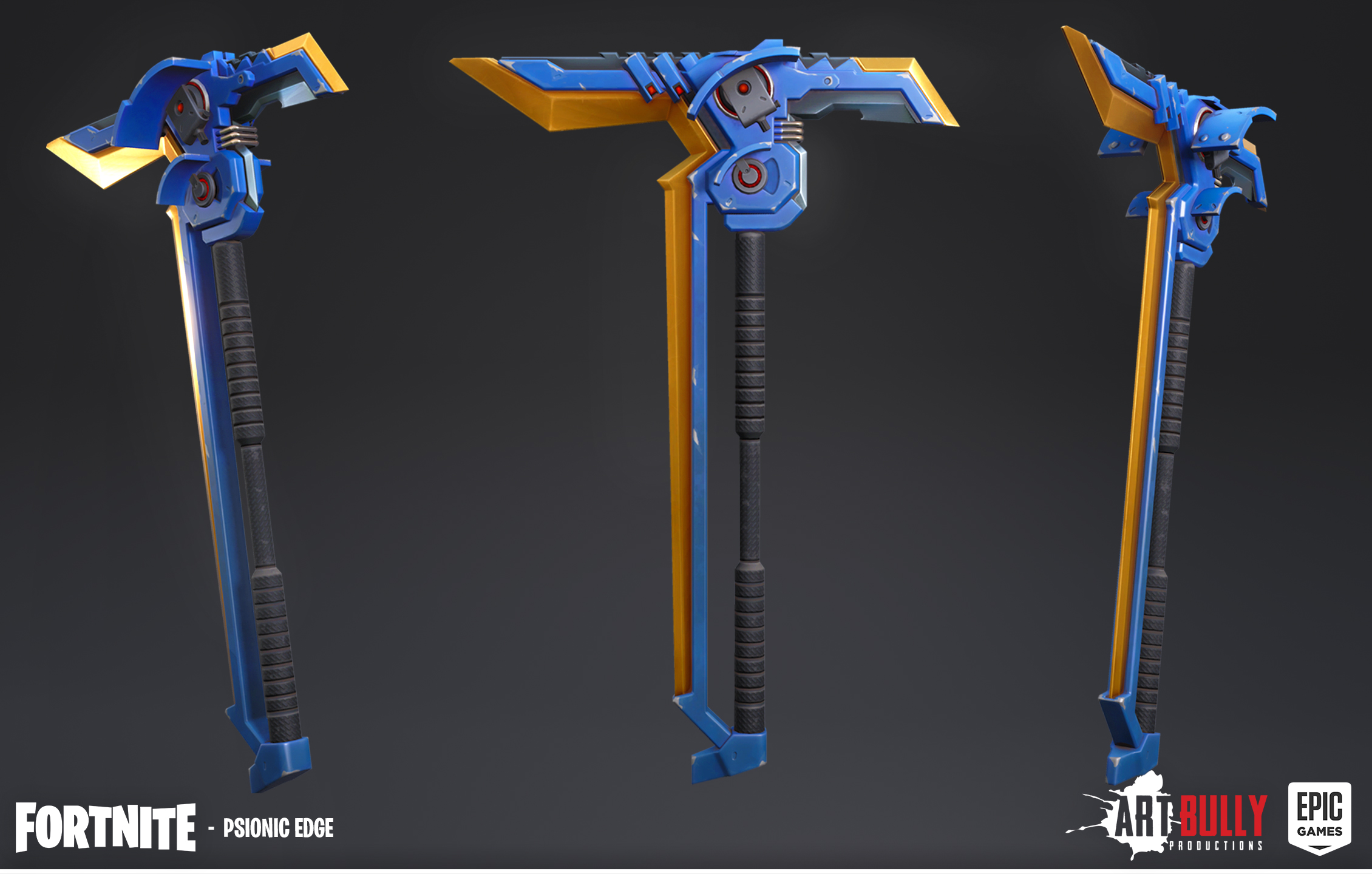 Gray Pickaxes Fortnite Fortnite Pickaxe Gallery Art Bully Productions Llc Game And Cinematic Art Services
