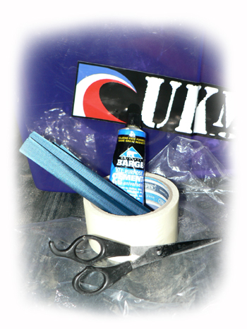A typical repair kit. Photo:  Graeme Webster
