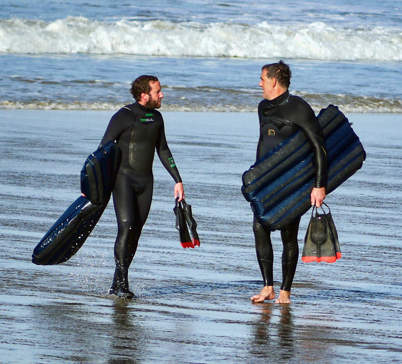 Dan Lawrence (L) & Adrian Paterson  Photo:  Graeme Webster