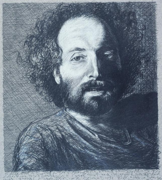 Portrait of Barry Berg by Tom Threinen