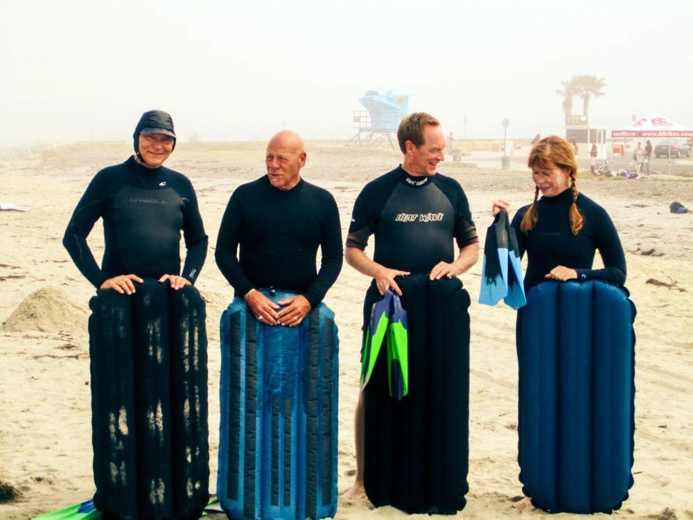 (L-R) Tom, Ken McKnight, Dirk Brandts, Cher Pendarvis Photo: Maria McCall