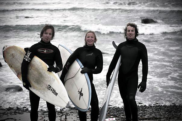 Surfing in Norway . photo: Rhys Jones