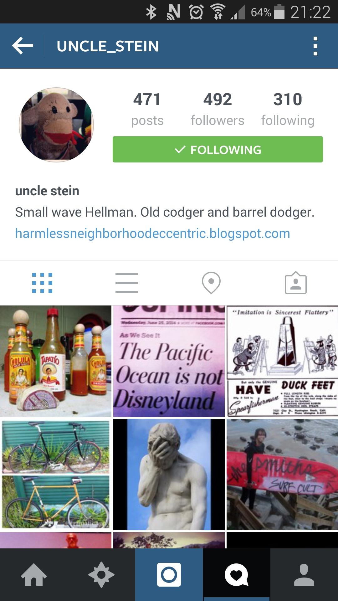 Steiny's Instagram  Photo:  Graeme Webster