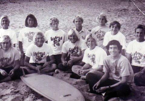 Windansea Surf Club (Henry iscentre-front)- Photo: Thor Svenson