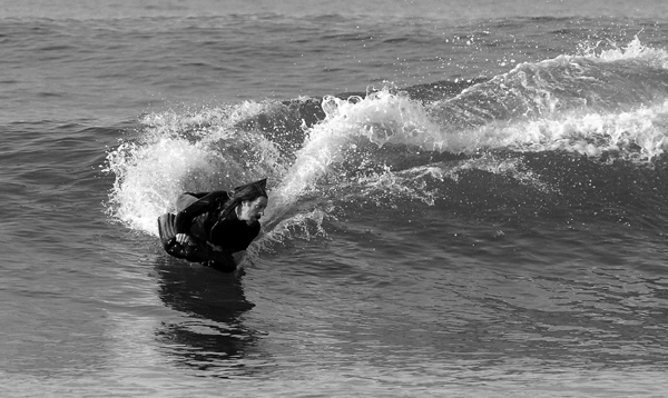 James Sowell arcing it back. Pic:  Lance Smith
