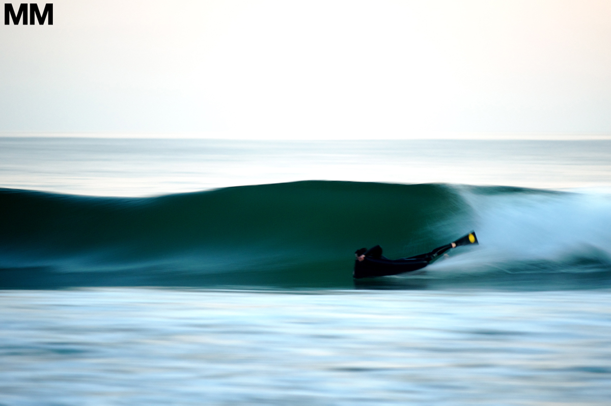 Andrew Stephen Buck, speed blur. Pic: Morgan Maassan