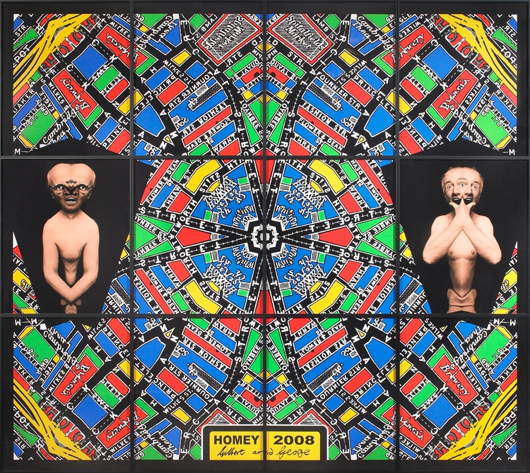 Gilbert & George,  Homey,  2008