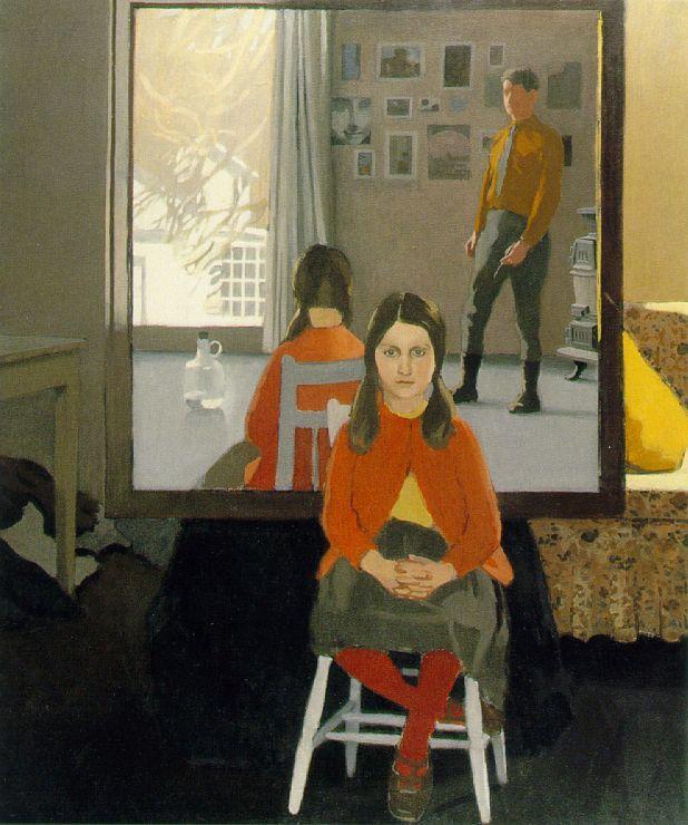 Fairfield Porter,  The Mirror , 1966