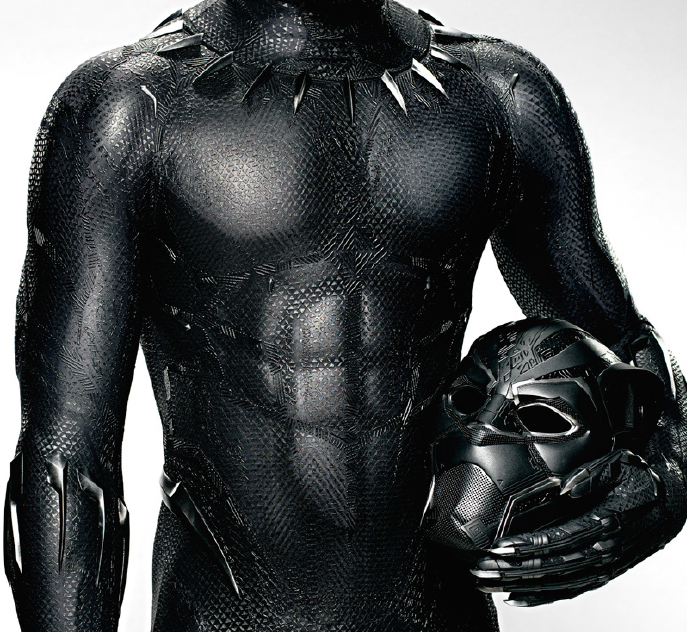 Black Panther,  2018 [costume detail]