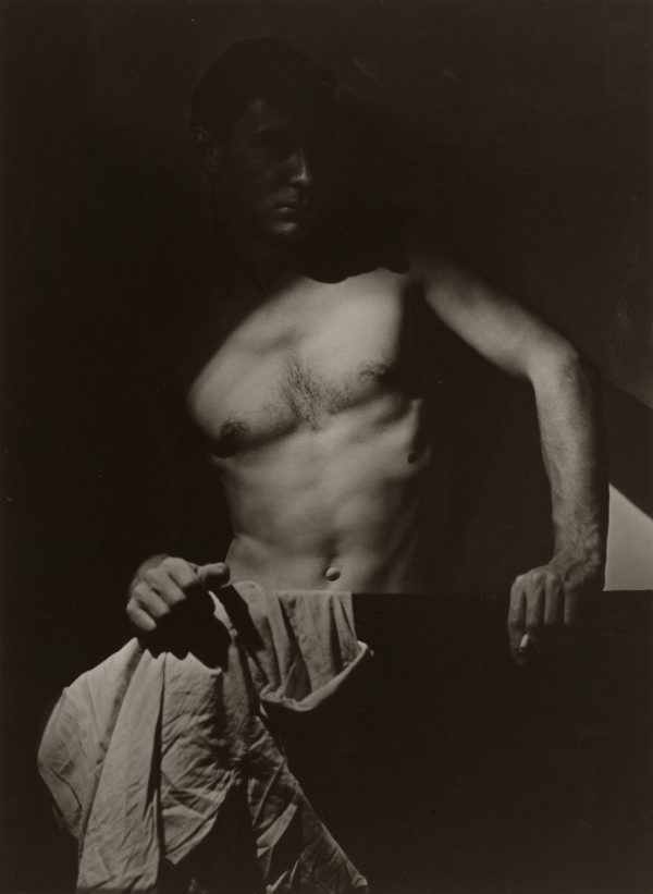 Olive Cotton, Max after Surfing, 1939.