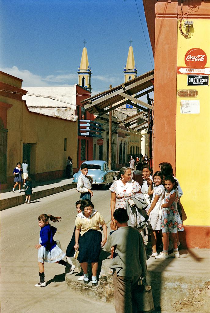 Street Corner, Monterey, Mexico,  c. 1950