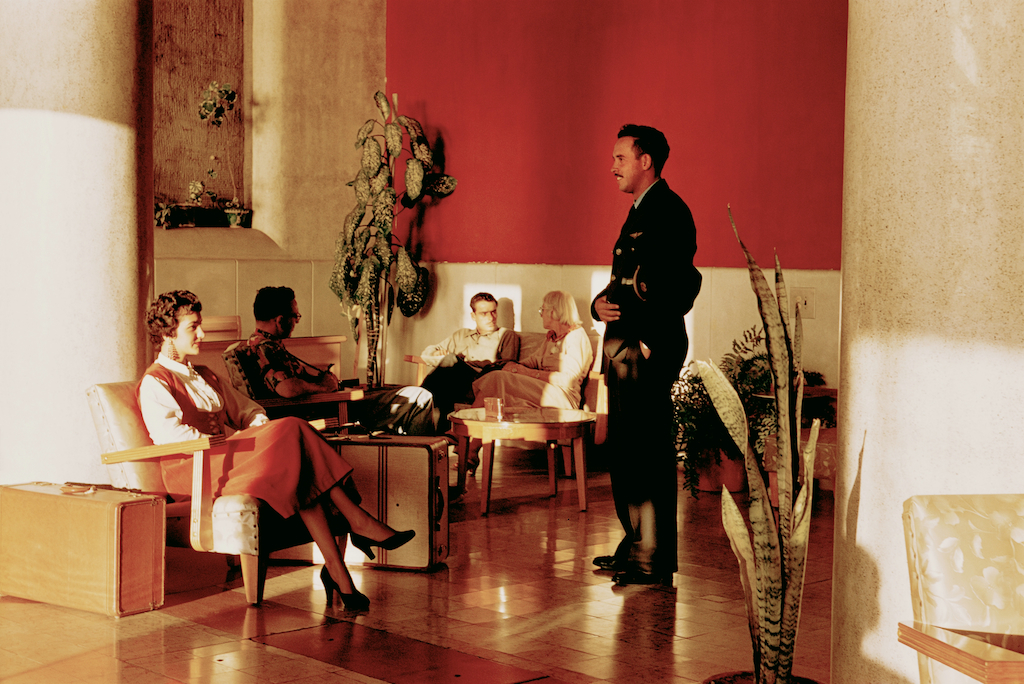 Hotel Lobby, Mazatlán, Mexico,  c. 1950