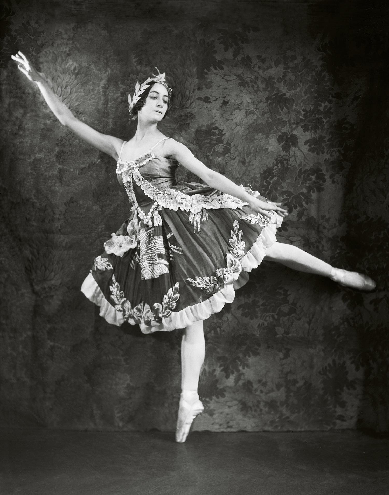 "Olga Spessivtseva as Aurora in ""The Sleeping Beauty"", 1921"