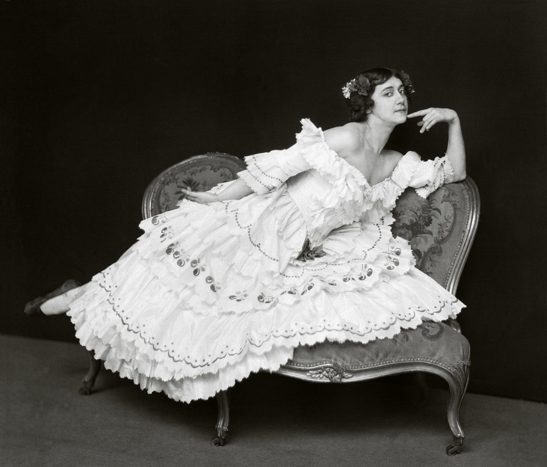 "Tamara Karsavina as Columbine in ""Le Carnaval"", London, England, 1912"