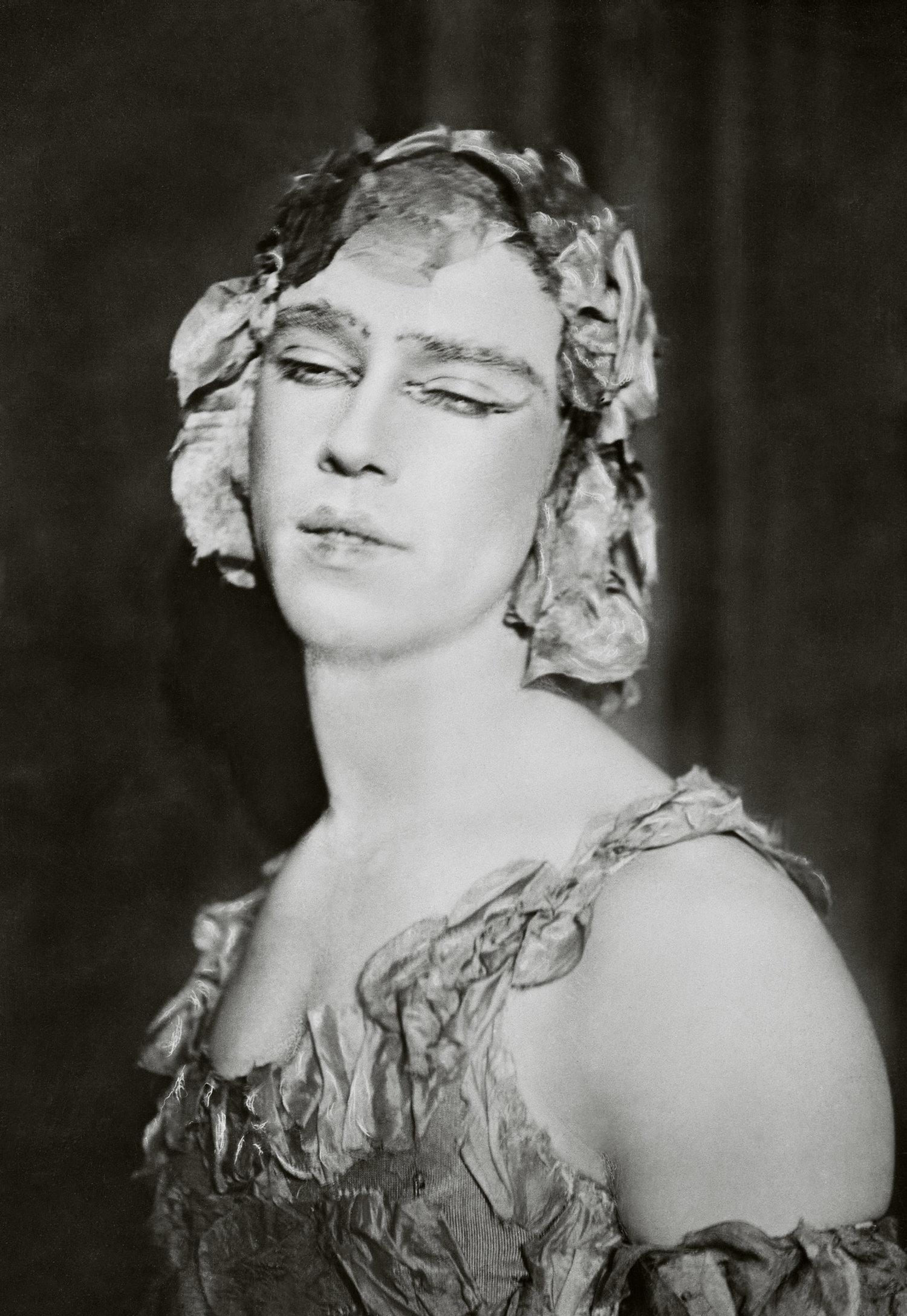"Vaslav Nijinsky as Spectre de la Rose in ""Spectre de la Rose"" , 1911"