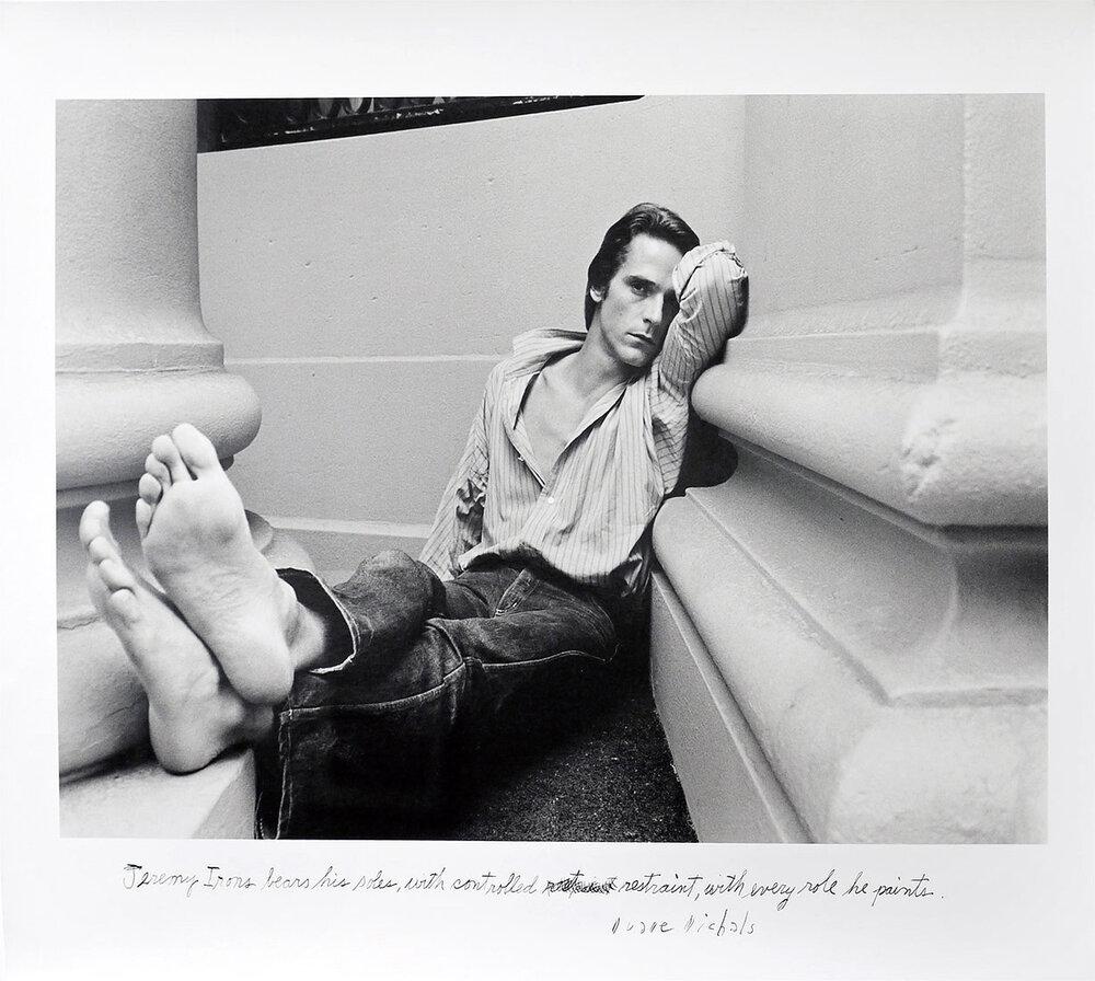 Jeremy Irons,  1981