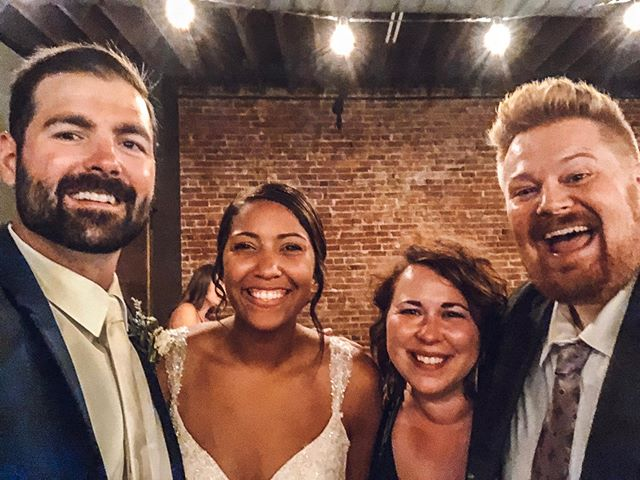 It was such a privilege to officiate @fober85 & @bmkwill's wedding last night! They were elegant, excited, and celebrated wonderfully together. Congrats to them and the life they will build together.